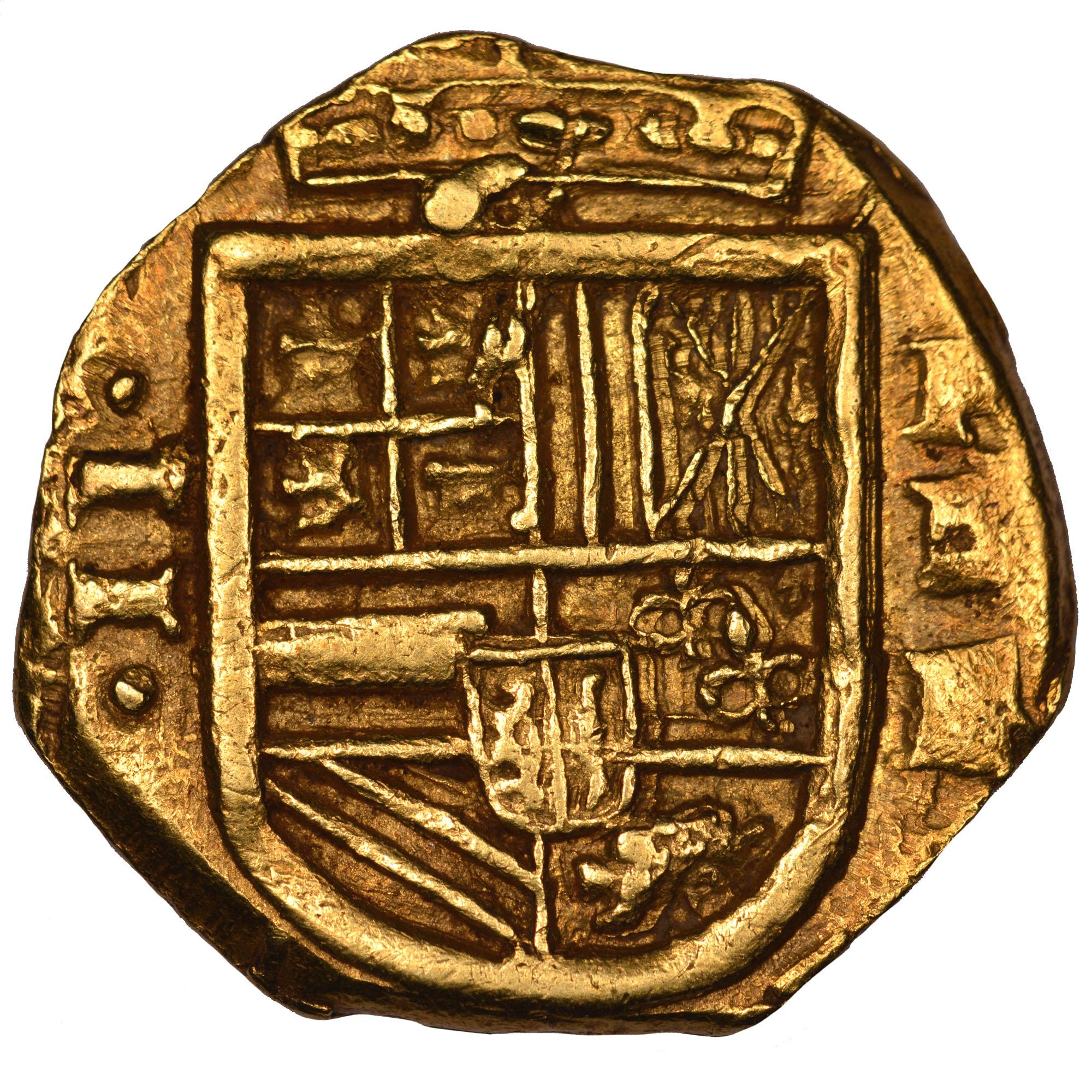 (1627-29)-1635 Colombia 2 Escudos obverse