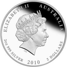 2010 Australia 2 Dollars obverse
