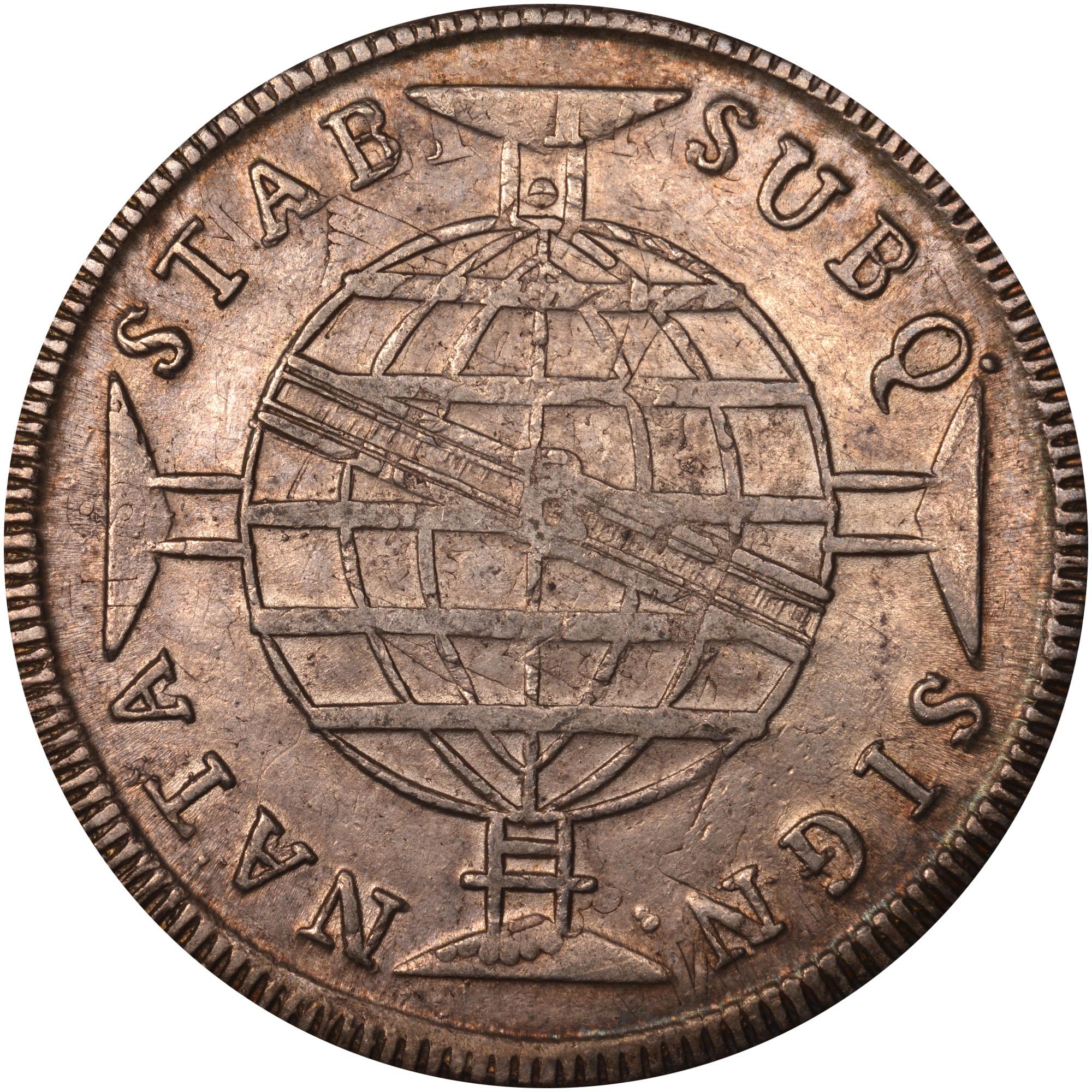 1810-1817 Brazil 960 Reis reverse