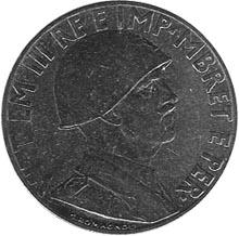 1939-1941 Albania 0.20 Lek obverse