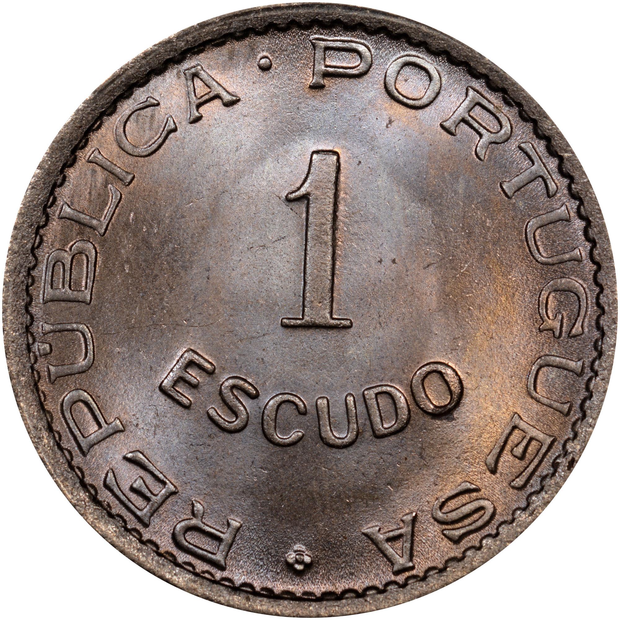 1949 Cape Verde Escudo obverse