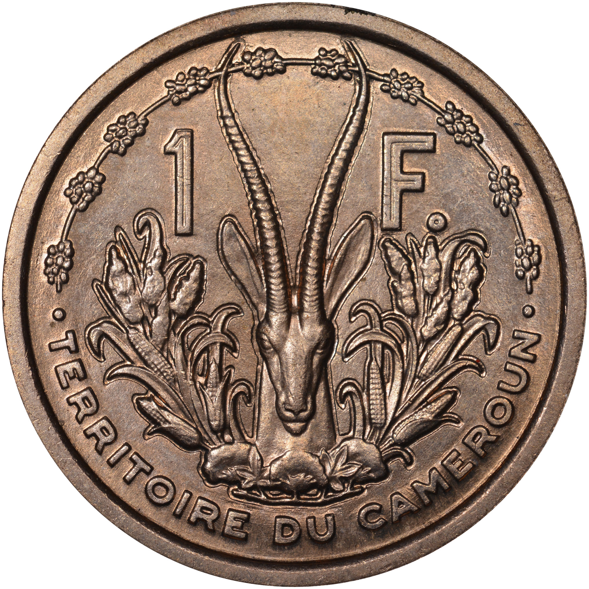 1948 Cameroon Franc reverse