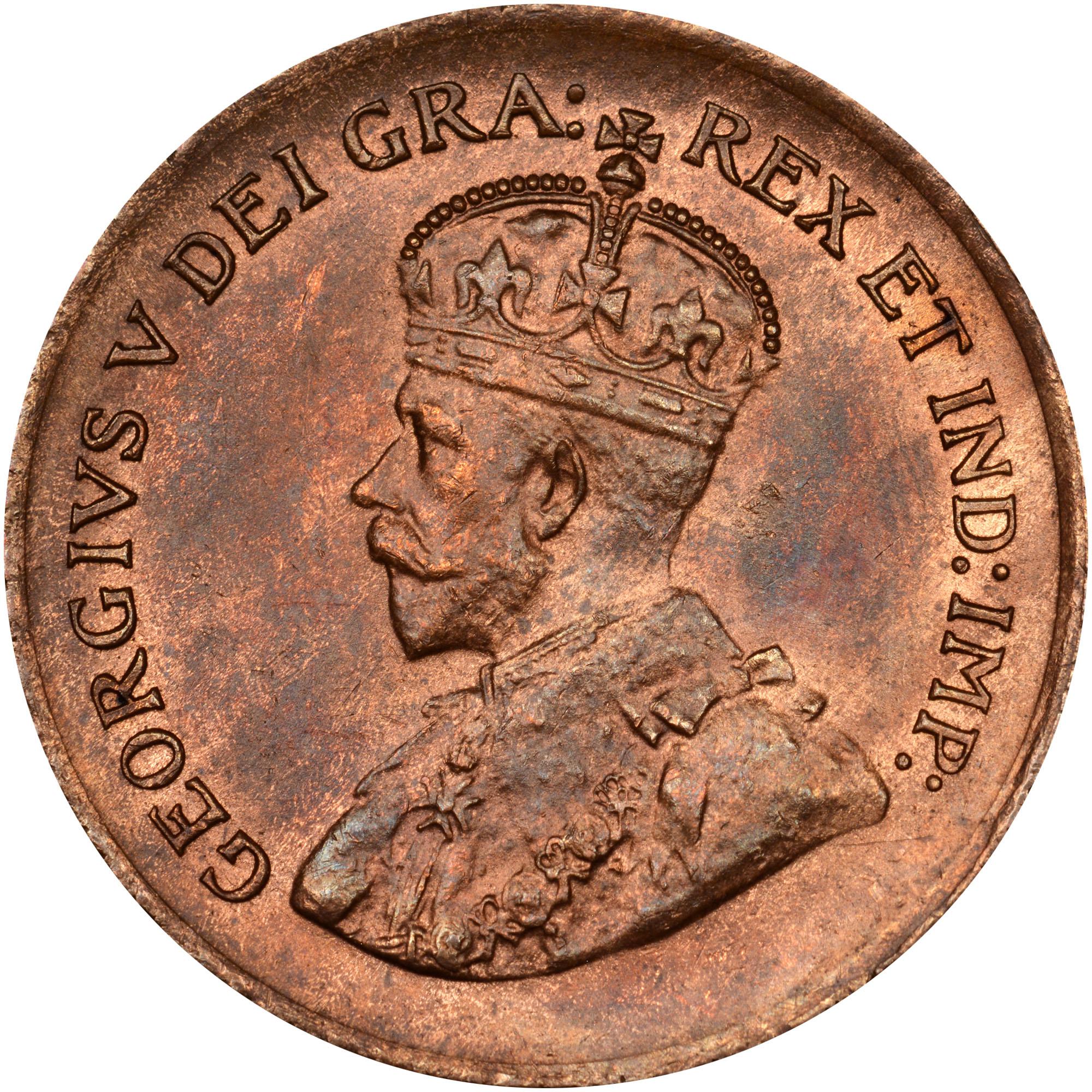 1920-1936 Canada Cent obverse