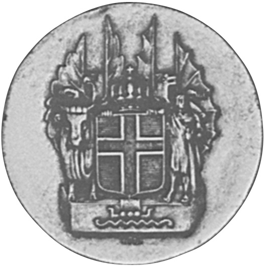 1930 Iceland 10 Kronur obverse