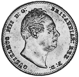 1836 Guyana Guilder obverse