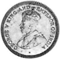 1911-1916 Guyana 4 Pence obverse