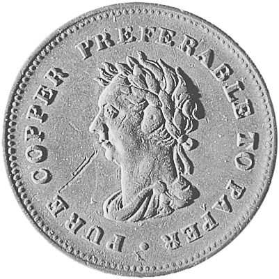 1838 Guyana Stiver reverse