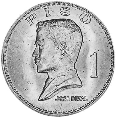 1972-1974 Philippines Piso reverse