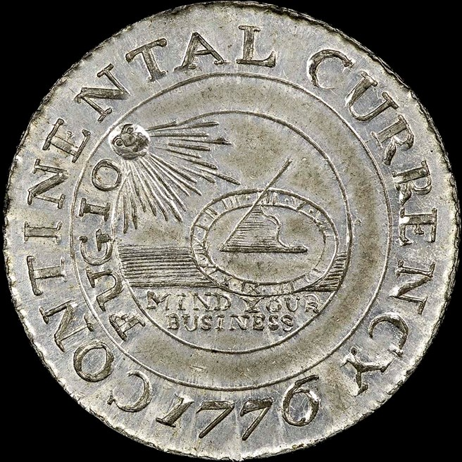 1776 Pewter Currency Continental S 1 Ms Early American Post Declar