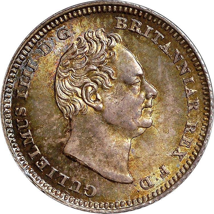 1836 1837 Great Britain 4 Pence Groat Km 723 Prices